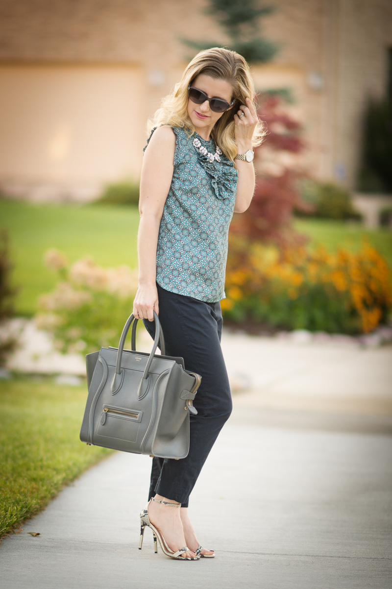Petite Fashion and Style | J. Crew Margot Top | Click to read more...p