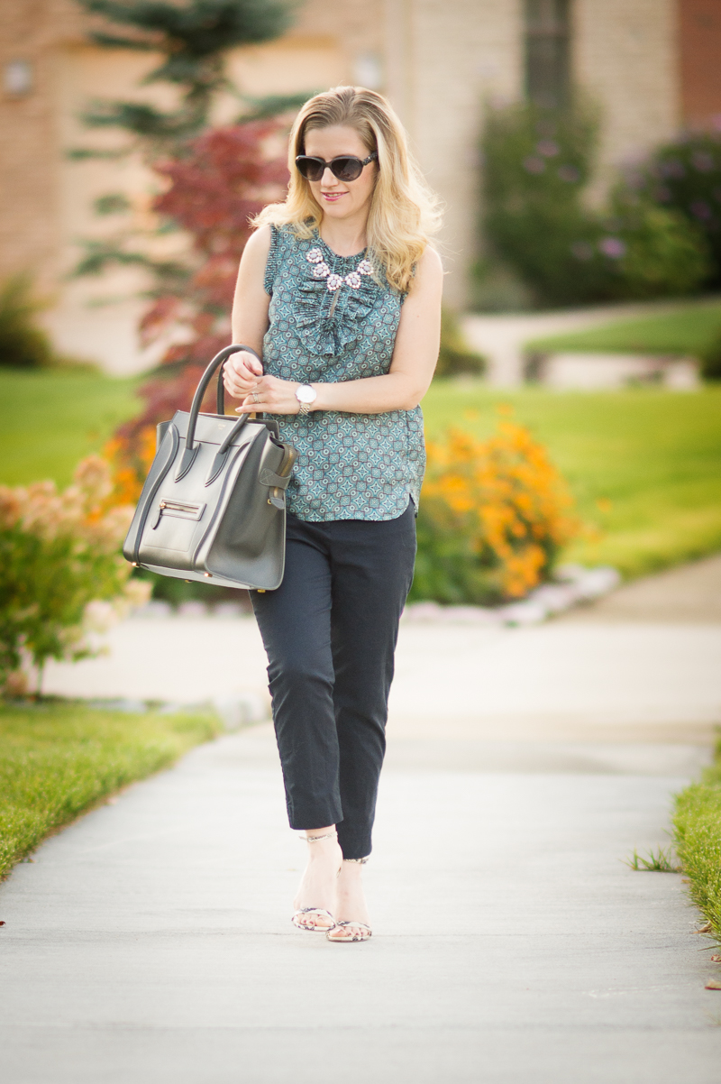 Petite Fashion and Style | J. Crew Margot Top | Click to read more...