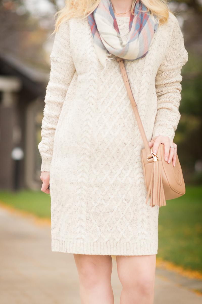 Petite Fashion and Style | Jack by BB Dakota Macey Sweater Dress | Click to Read More...