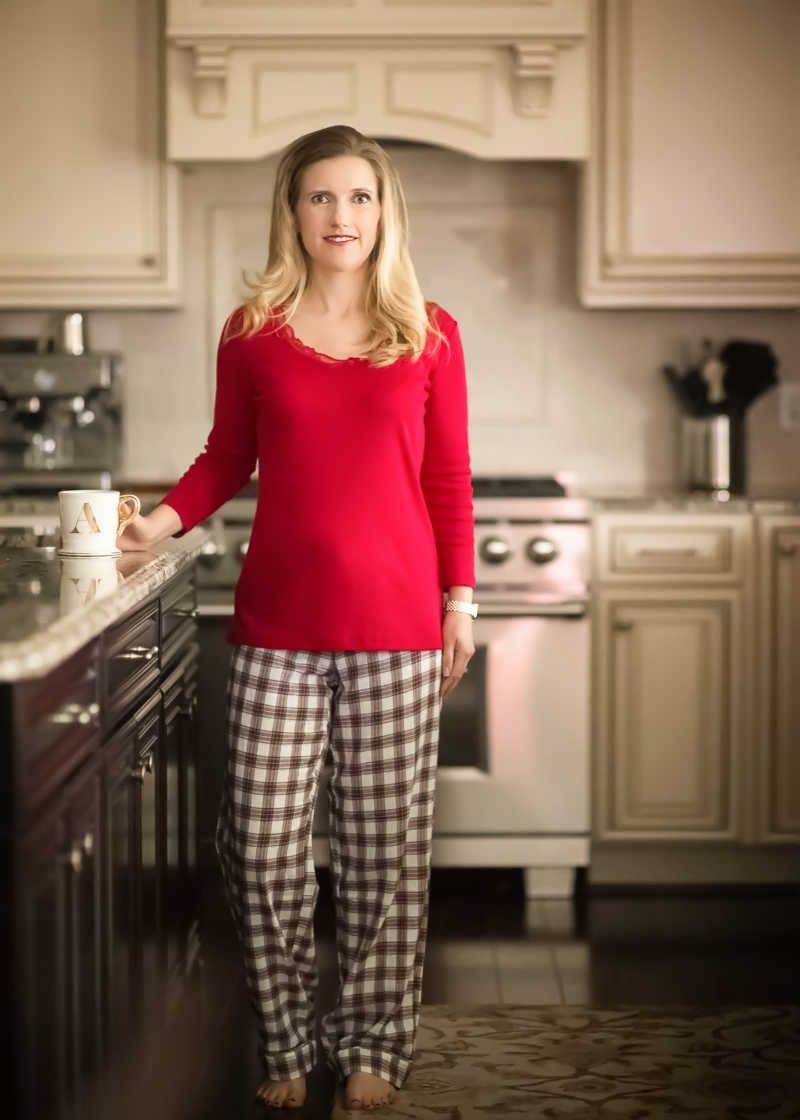 Petite Fashion and Style | Talbots Mistletoe Plaid Pajama Set | Click to Read More...