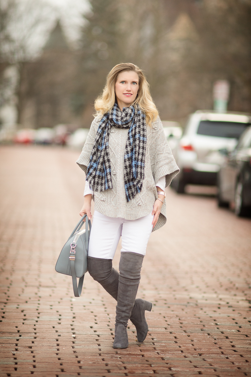 Petite Fashion And Style Blog Talbots Aran Stitched
