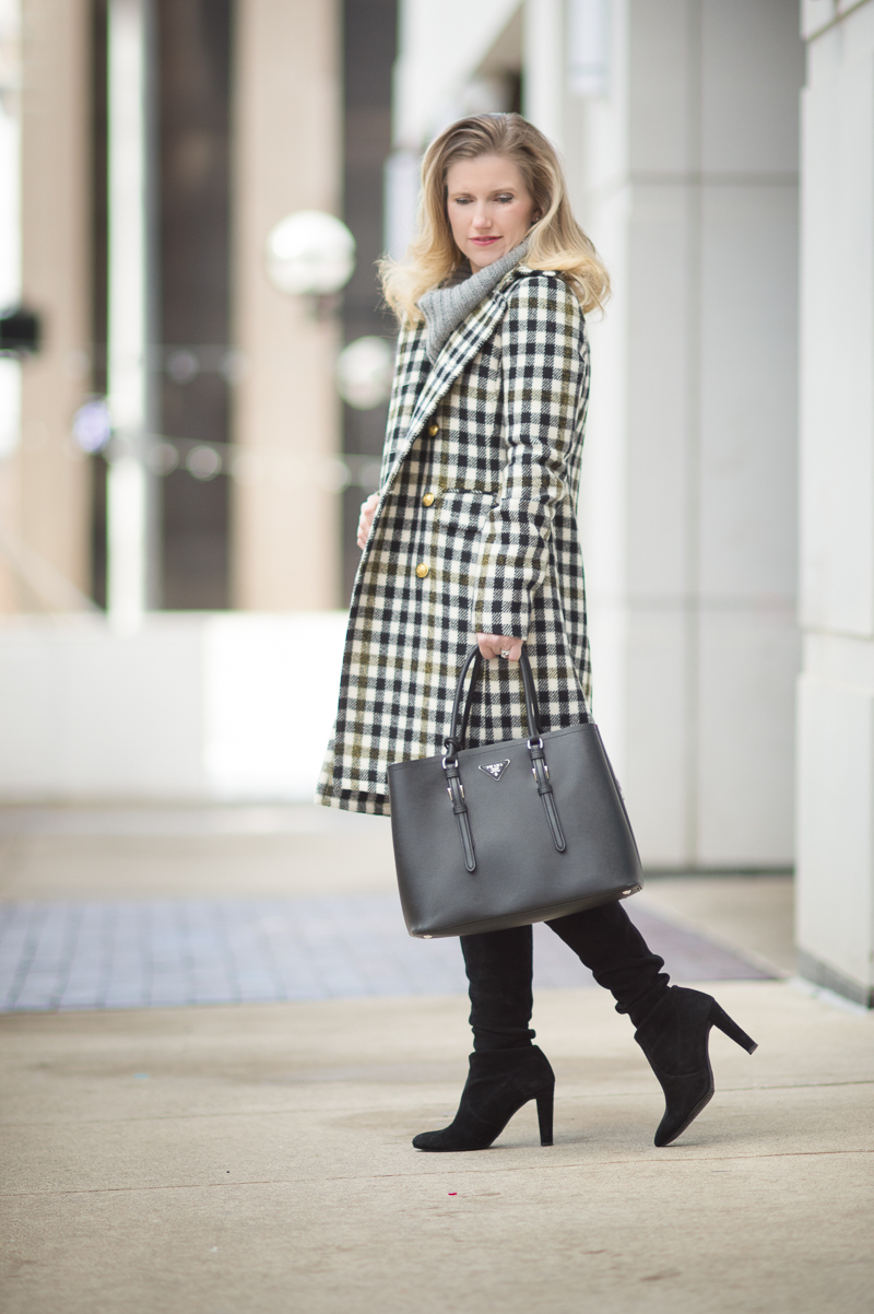 J. Crew Oxford Check Coat and Winter Clearance Sales