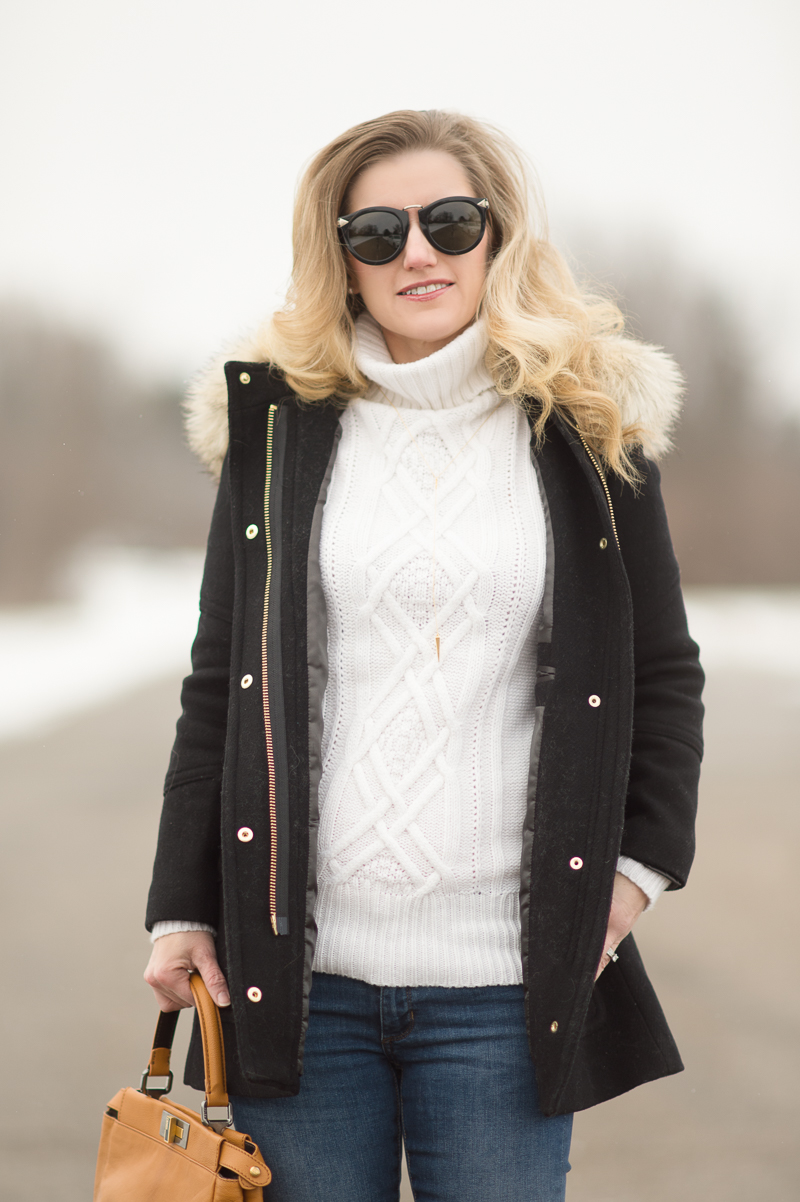 Petite Fashion and Style Blog | Karen Walker Special Harvest Sunglasses | Click to Read More...
