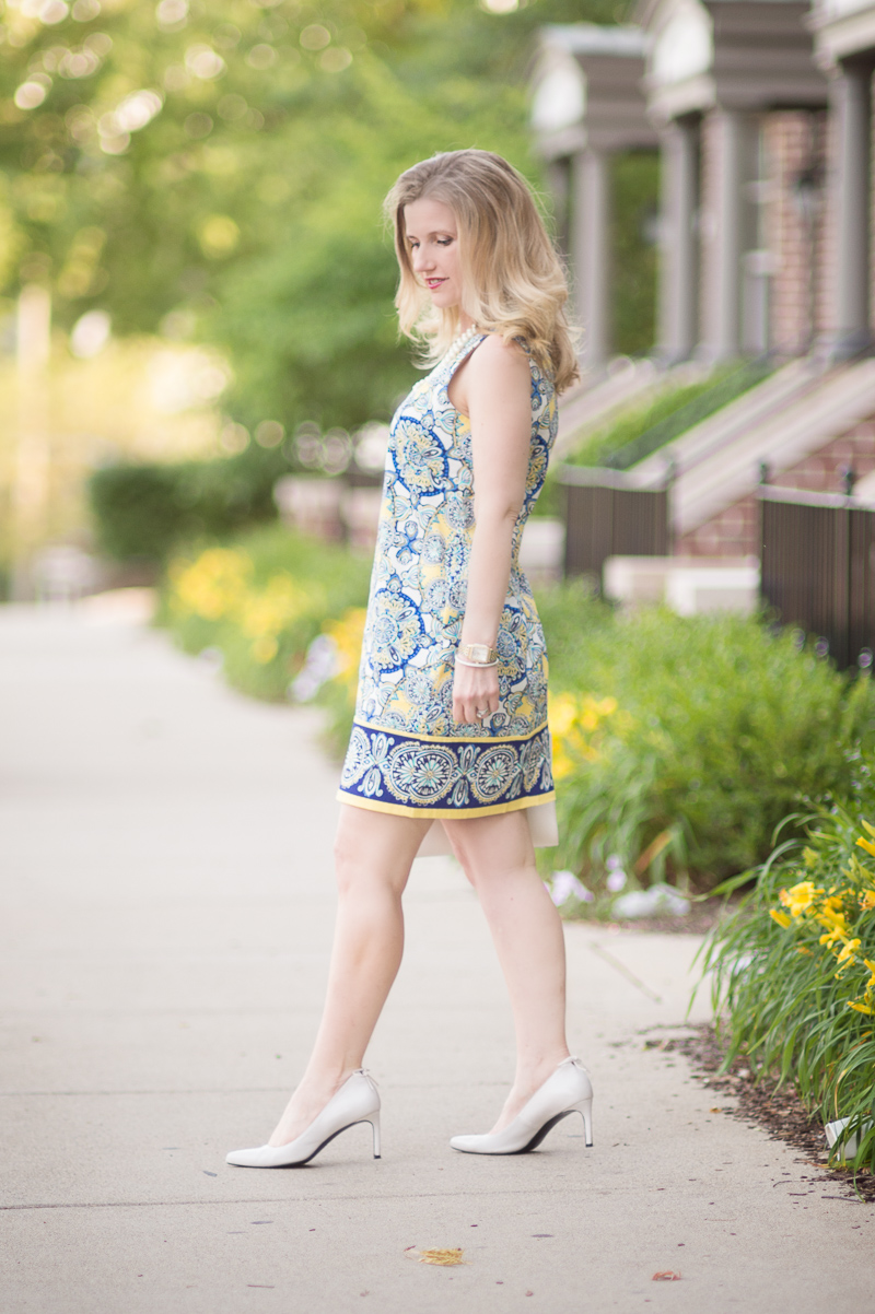 Petite Fashion And Style Blog Londin Times Yellow Cotton