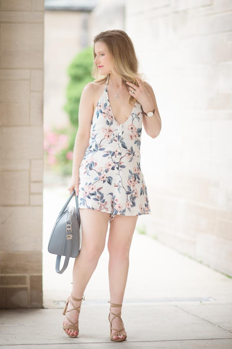 Petite Fashion And Style Blog Somedays Lovin Song Of Ummer Playsuit Givenchy Bag Raye Lulu