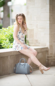 Petite Fashion and Style Blog | Somedays Lovin Song of Summer Playsuit | Givenchy Antigona Bag | Raye Lulu Heel in Tan | Click to Read More....