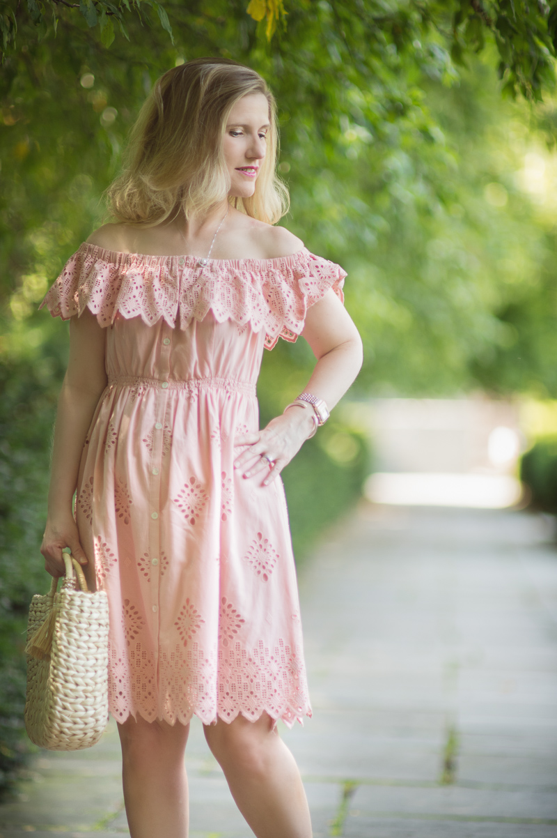 Petite Fashion and Style Blog | Sea Daniella Ruffle Dress | Click to Read More...