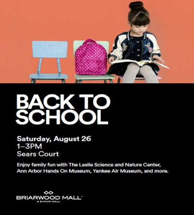 Briarwood Mall Back to School Bash