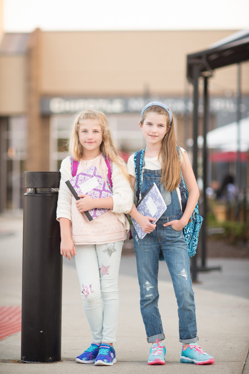 Petite Fashion and Style Blog | Briarwood Mall Back to School | Vera Bradley Backpacks | Click to Read More...