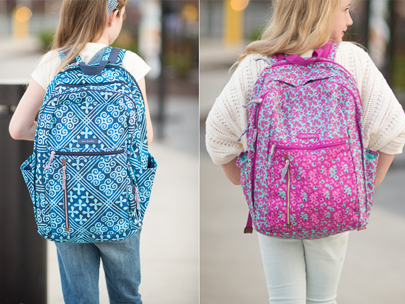 Petite Fashion And Style Blog Briarwood Mall Back To School Vera Bradley Backpacks 6 The Blue Hydrangeas A Petite Fashion And Lifestyle Blog