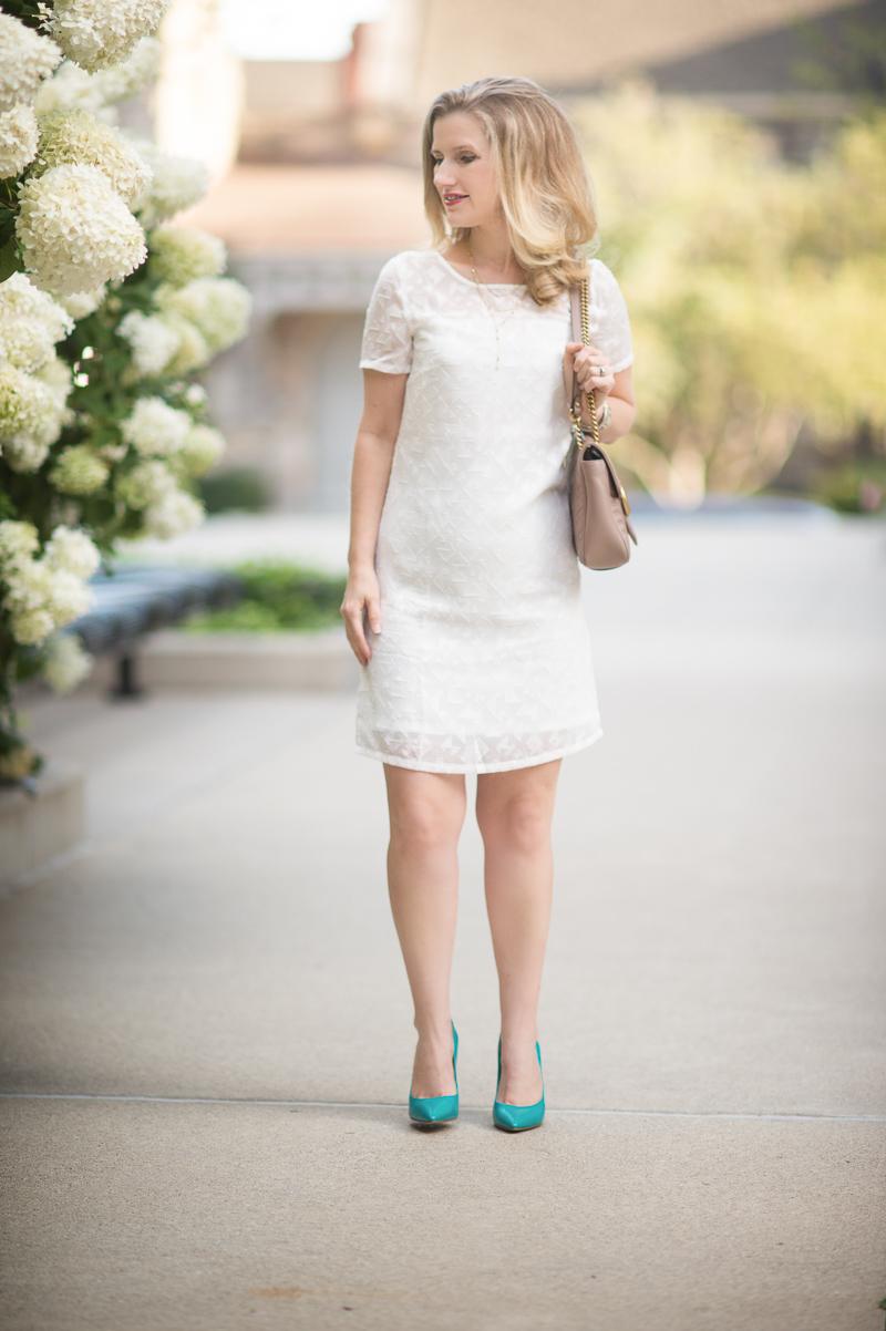 Petite Fashion And Style Blog Cuddy Studios Drew Dress Baublebar Celestial Star Earrings