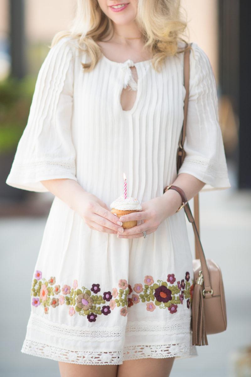 Petite Fashion and Style Blog   Tularosa Audrey Pintuck Dress   Gucci Soho Disco Bag   Steve Madden Gerard Heels