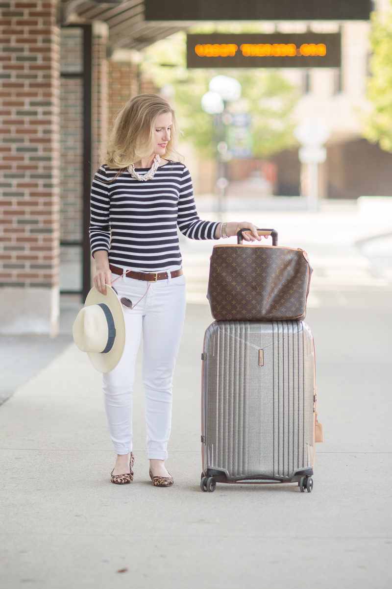 Petite Fashion and Style Blog | Hartmann 7R Spinner | Click to Read More...