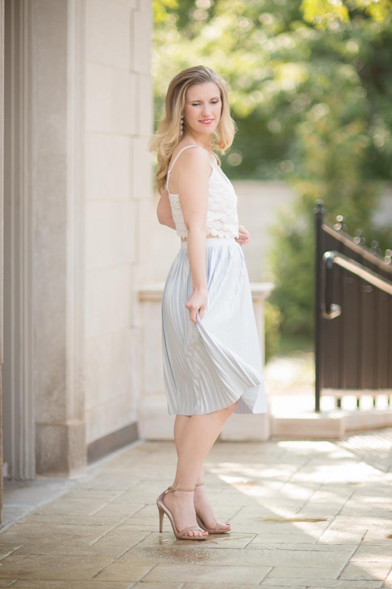 67bcafb57714 Topshop Petite Pleated Midi Skirt – DACC