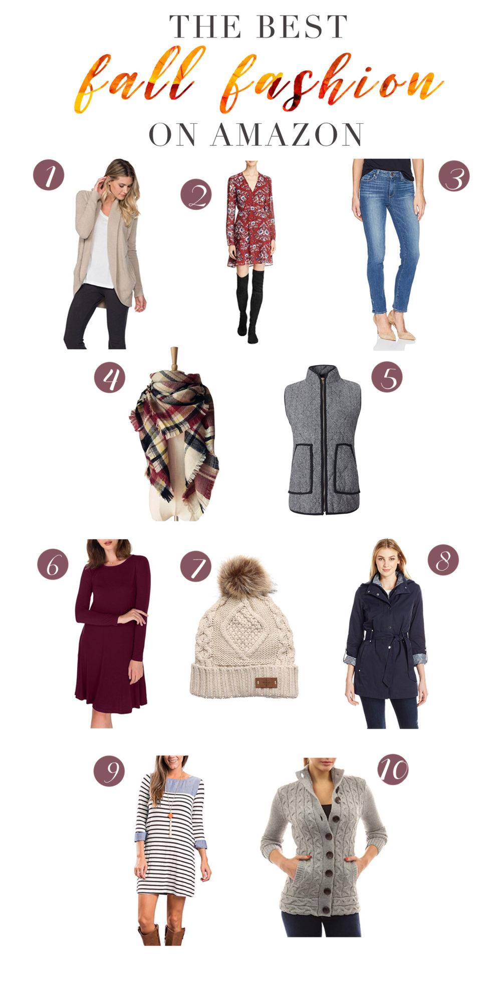 Petite Fashion and Style | The Best Fall Fashion on Amazon - The Best of Amazon Fall Fashion by popular Michigan petite fashion blogger The Blue Hydrangeas