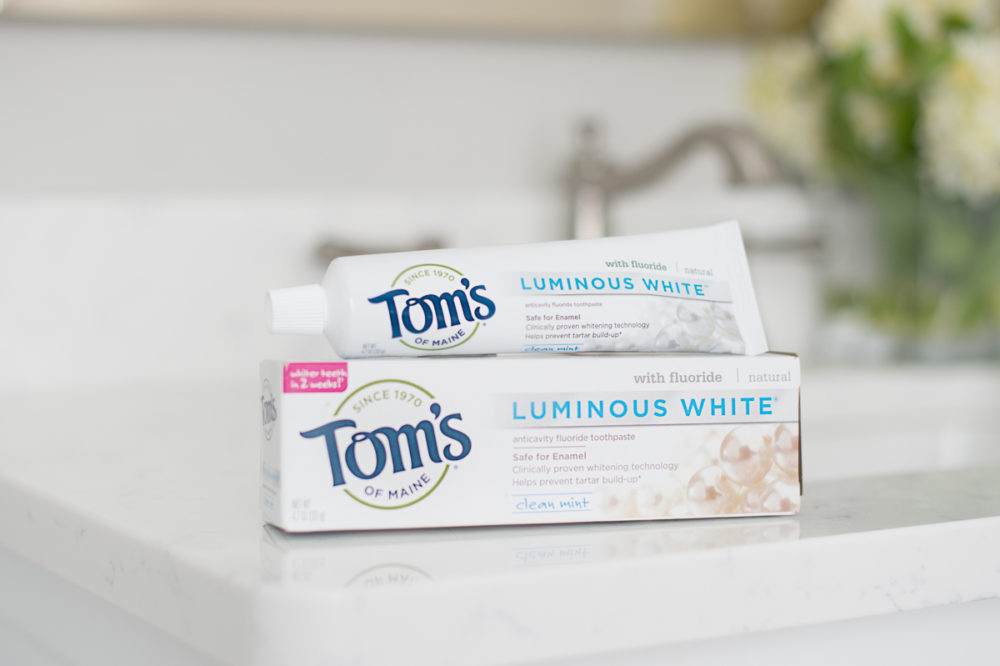 Petite Fashion Blog | Tom's of Maine Luminous White Toothpaste
