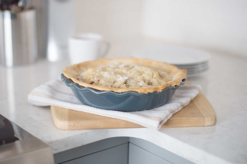 Petite Fashion and Style Blog | Apple Crisp Pie | Click to Read More