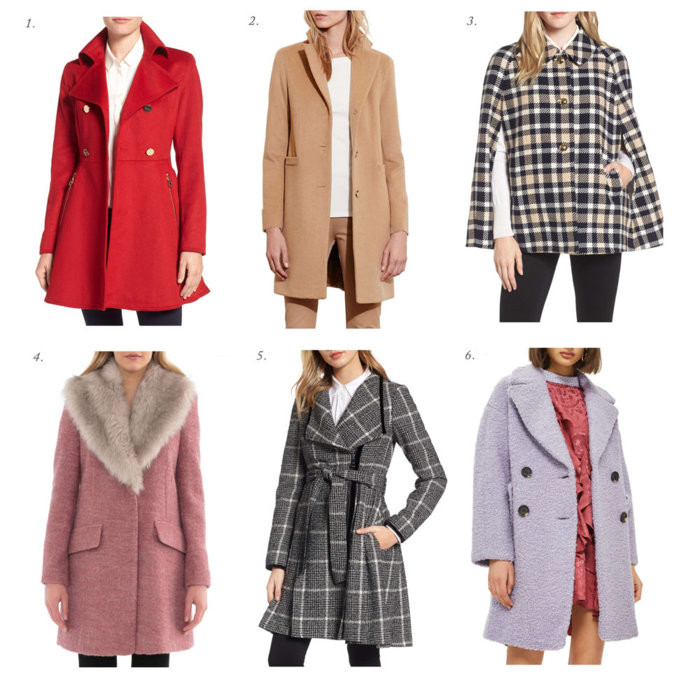Petite Fashion and Style Blog | Fall Coats | Click to Read More... - 7 Must Have Wool Coats for Fall by popular Michigan petite fashion blogger The Blue Hydrangeas