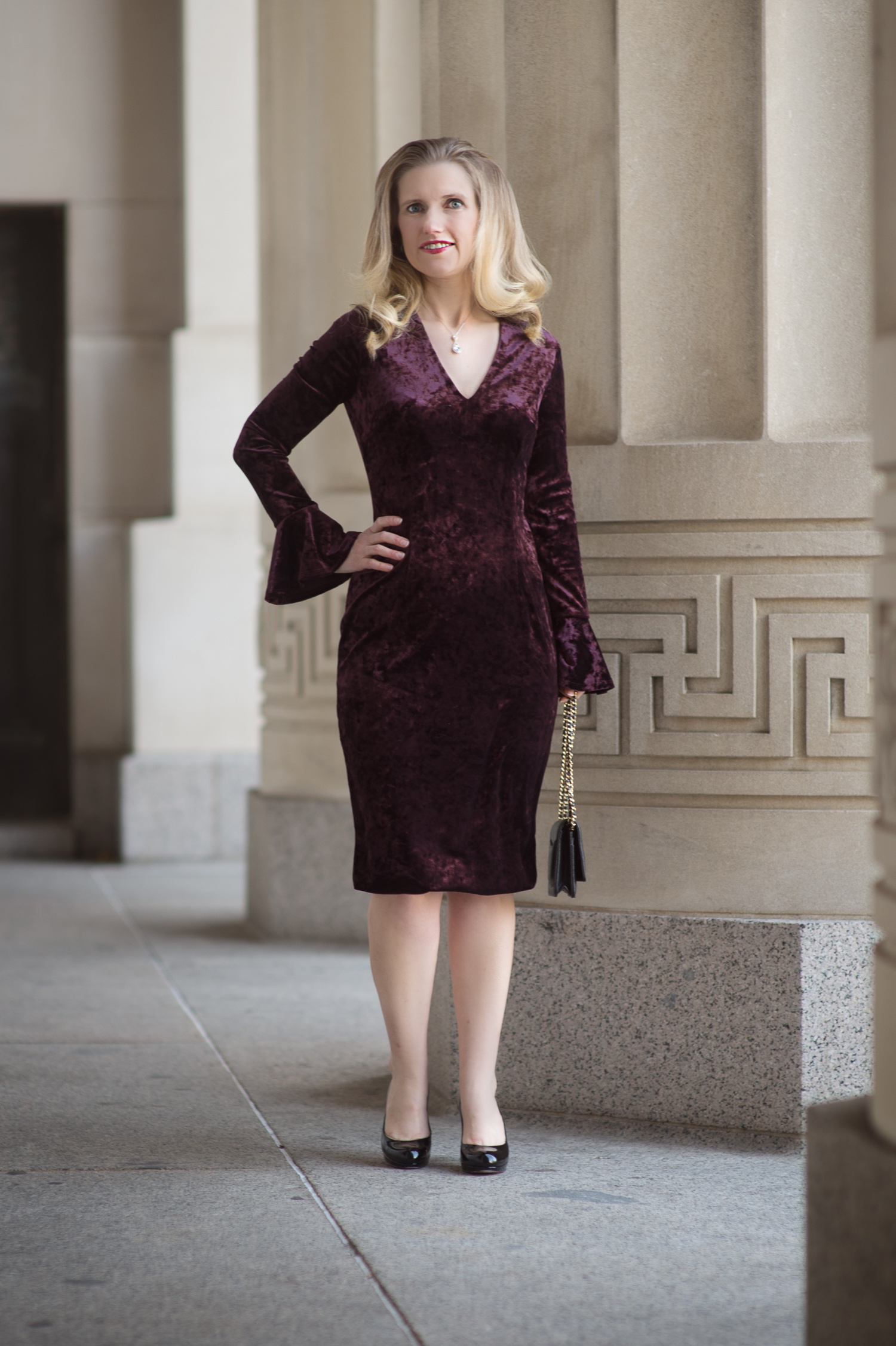 Velvet Dress Inspiration From London Times The Blue