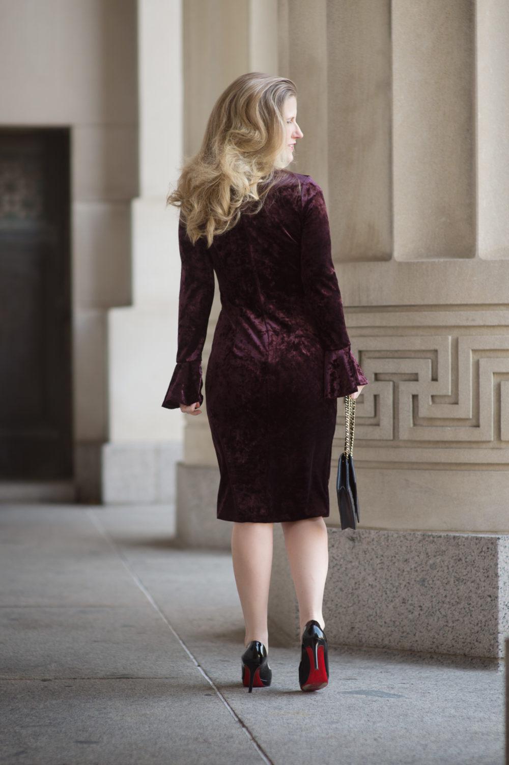 Velvet Dress Inspiration From London Times The Blue