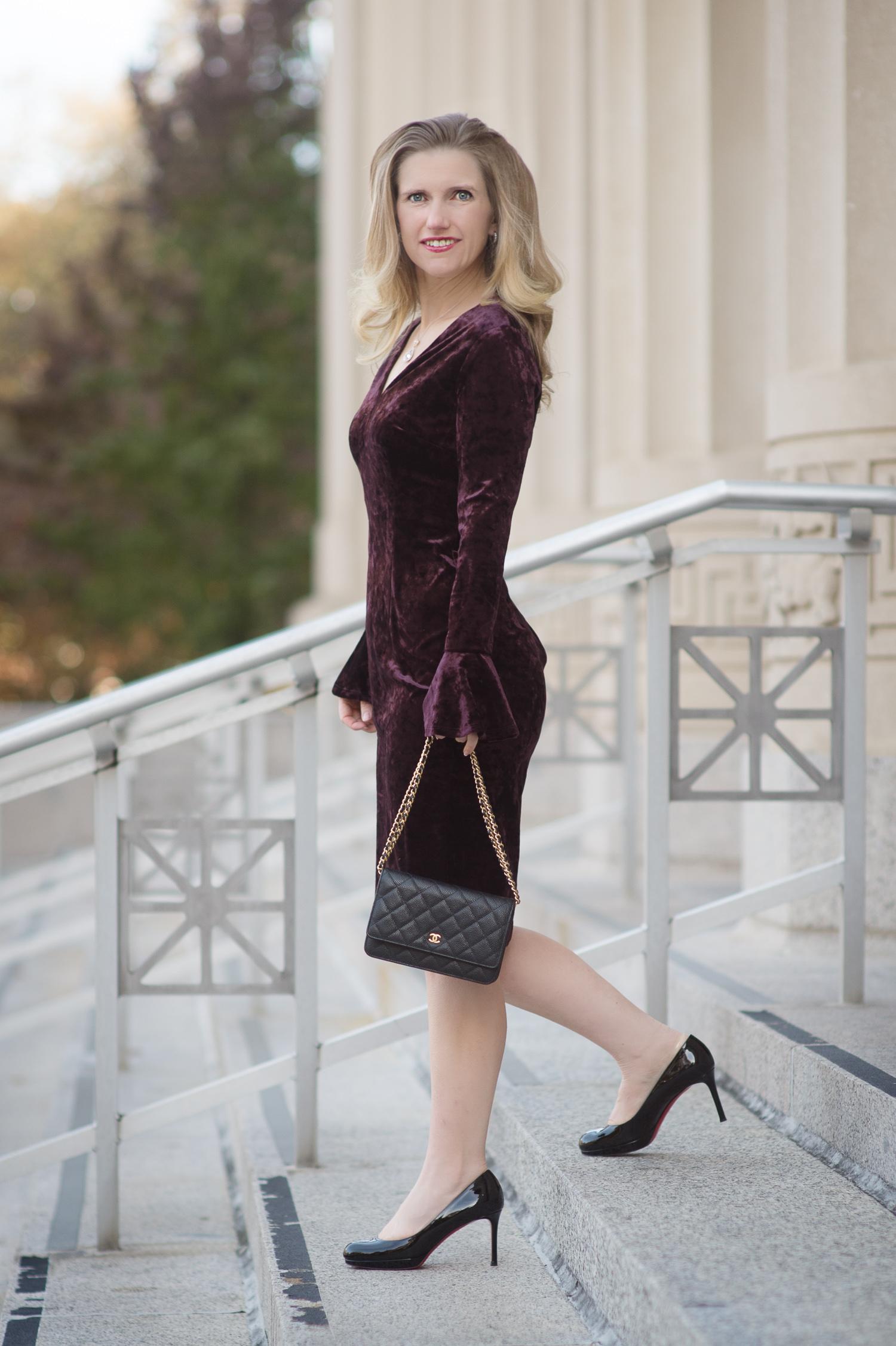 Petite Fashion And Style Blog Fashion For Petite Women London Times Lindsay Midi Dress 9