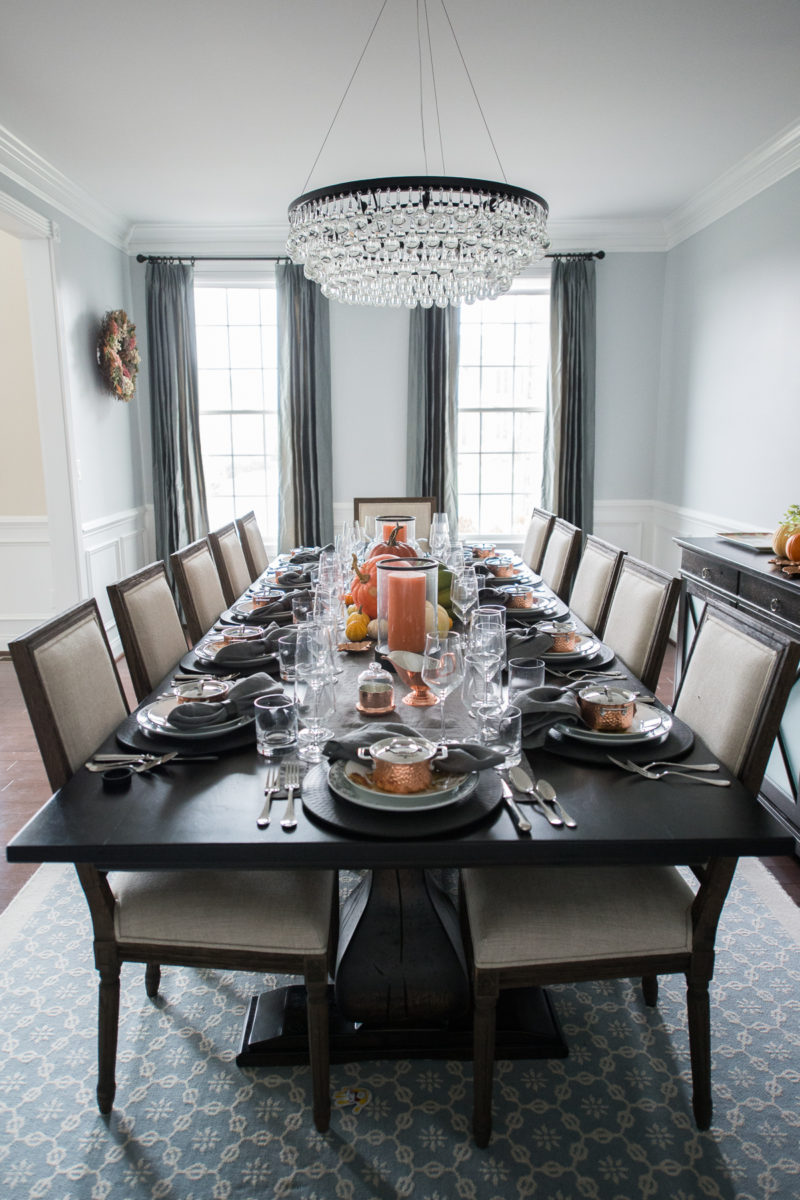 Our Thanksgiving Tablescape with Williams Sonoma….