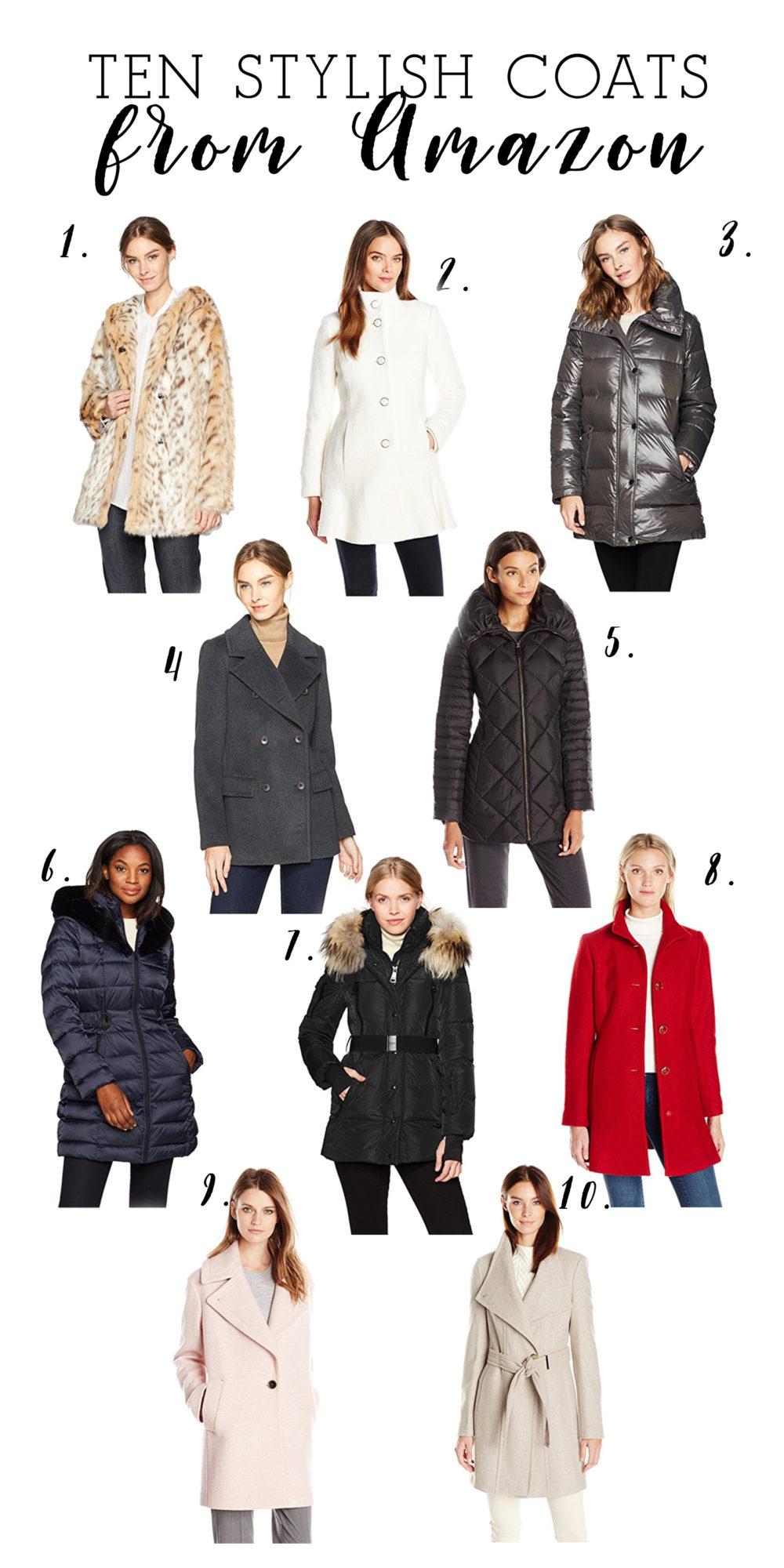 Petite Fashion and Style Blog | Ten Stylish Coats from Amazon | Amazon Winter Coats