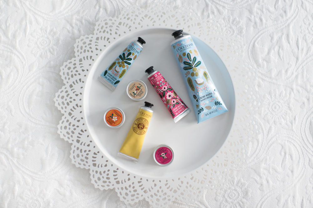 L'Occitane en Provence Shea Butter Hand Cream by popular Michigan blogger The Blue Hydrangeas