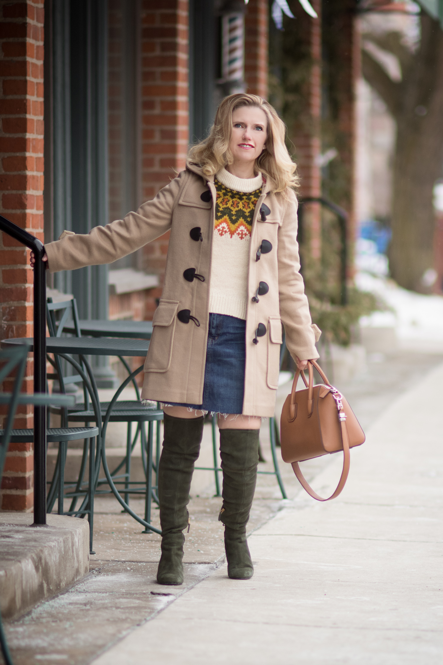 Fashion for Petite Women | Madewell Fair Isle Sweater | Burberry ...