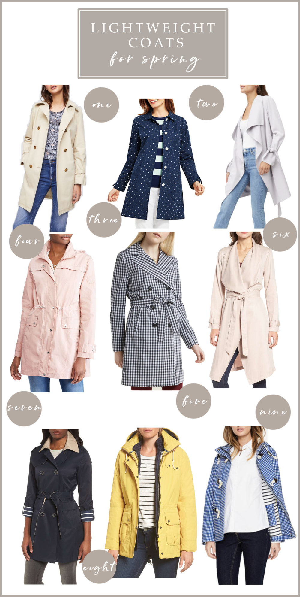 Club Monaco Ellyn Trench | Lightweight spring jackets