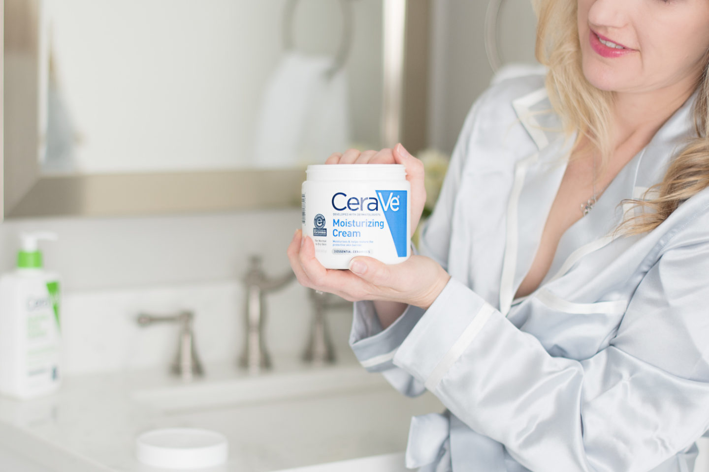 Michigan Petite Fashion and Lifestyle Blog | CeraVe Hydrating Facial Cleanser | CeraVe Moisturizing Cream