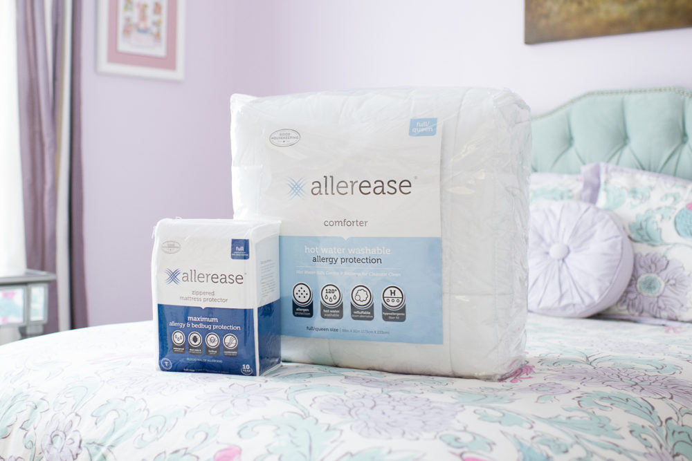Michigan Petite Fashion and Lifestyle Blog | AllerEase Bedding | Allerease Mattress Protector | AllerEase Review