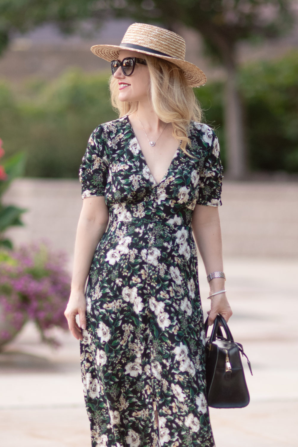 Michigan Petite Fashion and Lifestyle Blog |Nordstrom Aniversary Sale 2018 | ASTR the Label Button Front Midi Dress