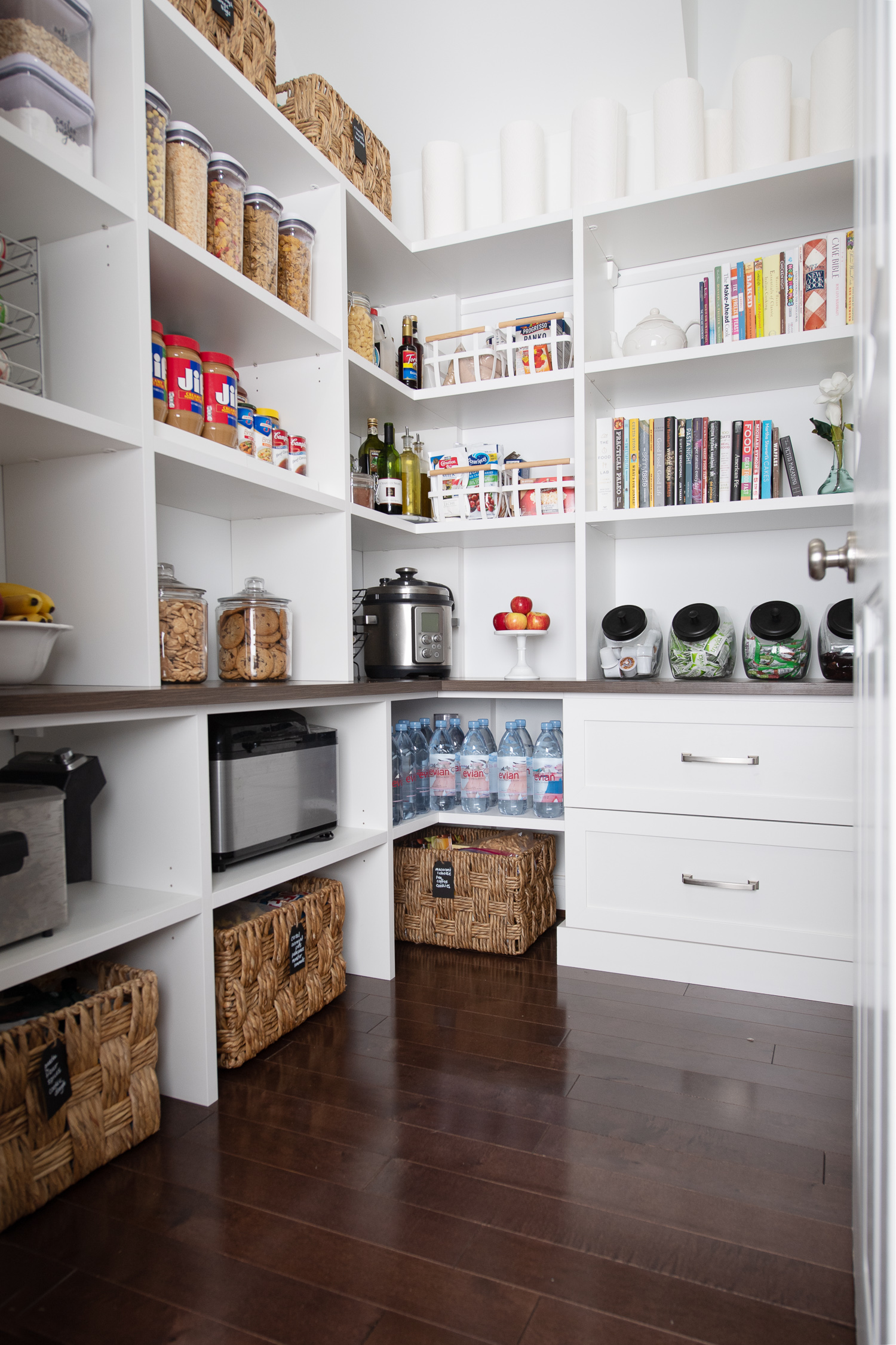 Michigan Petite Fashion And Lifestyle Blog | California Closets Pantry  Makeover | Pantry Organization