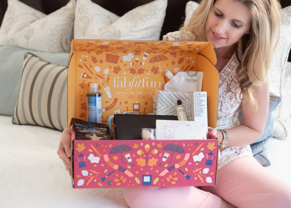 Petite Fashion and Style Blog   Fab Fit Fun Fall Subscription Box