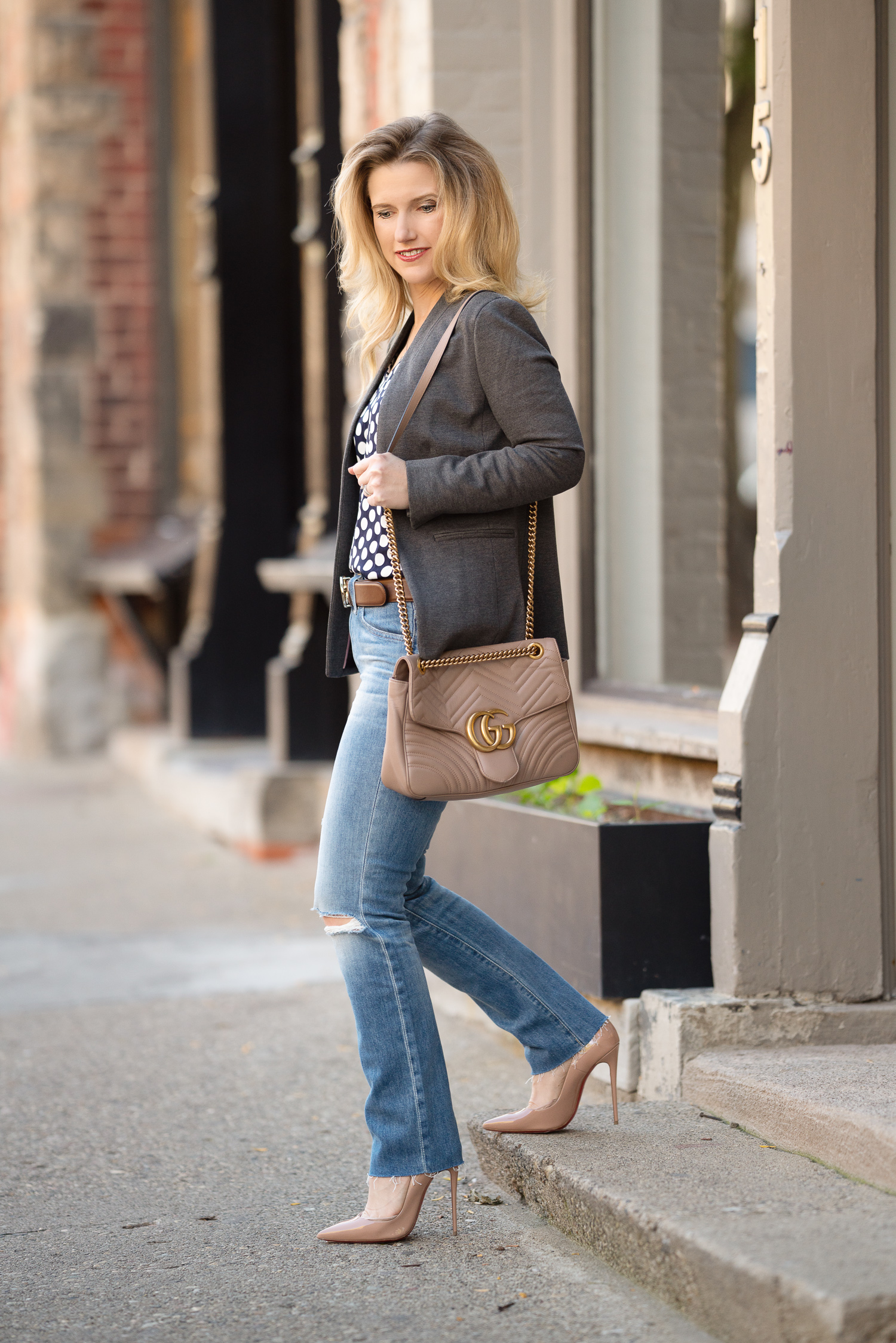 eb3da2b0c2b8 Petite Fashion and Style Blog | J. Crew Going Out Blazer-5 | The ...