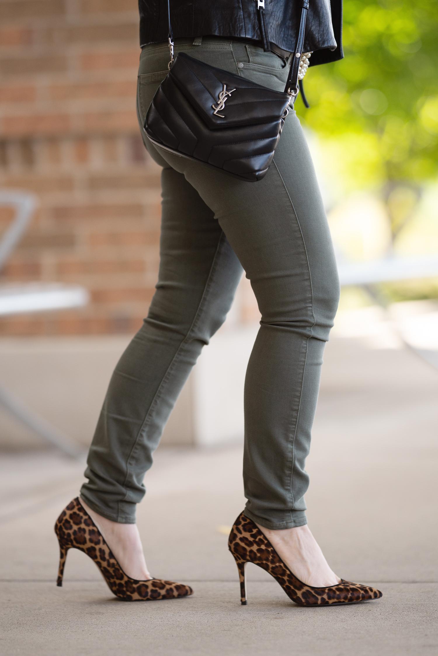 Petite Fashion And Style Blog Topshop Leather Moto Jacket Ann
