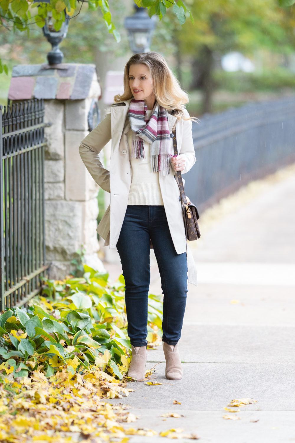 Petite Fashion and Style Blog | Winter Scarves | Ann Taylor Friends and Family Sale