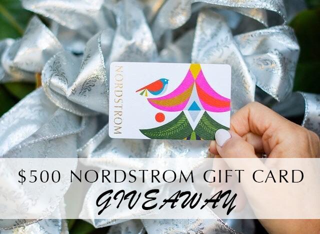 Nordstrom gift card giveaway | Nordstrom Giveaway