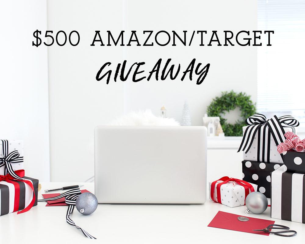 Amazon-Target Giveaway
