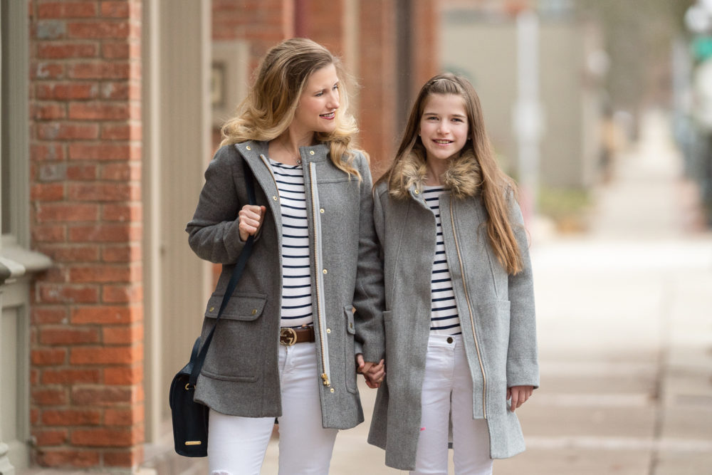 Petite Fashion and Style Blog | J. Crew Factory Vail Parka | Winter outfit inspiration | Mommy and Me Looks |