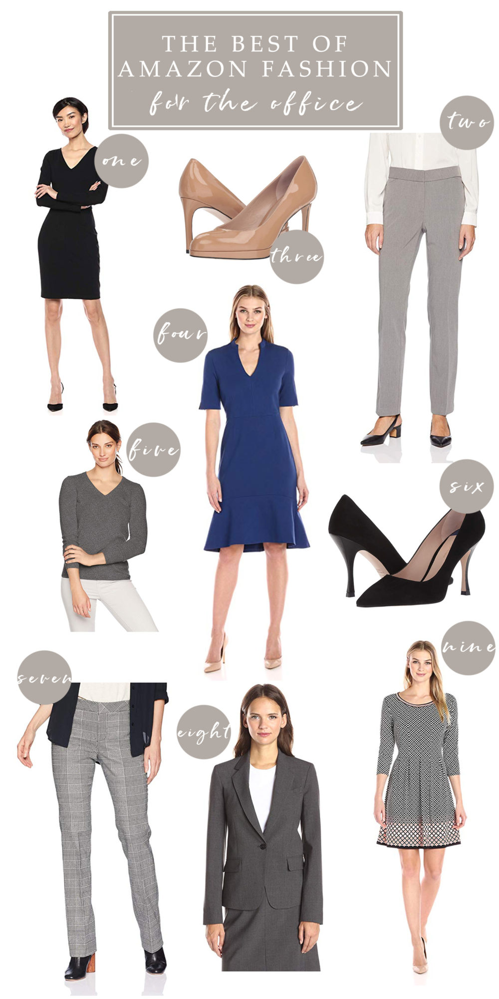 Amazon Fashion | Amazon Prime | Amazon Prime Wardrobe | Work Dresses on Amazon | Work Pants on Amazon