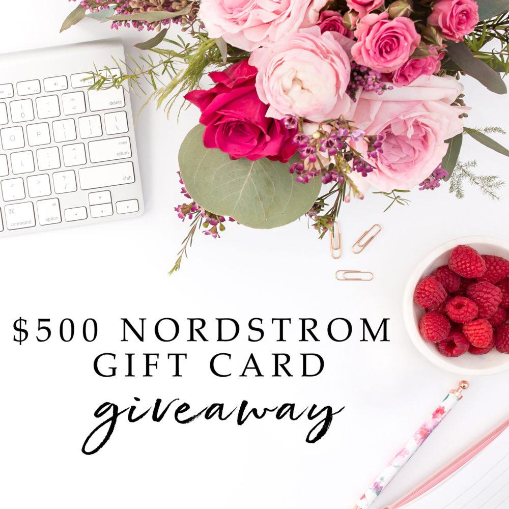 Nordstrom giveaway | $500 Nordstrom giveaway