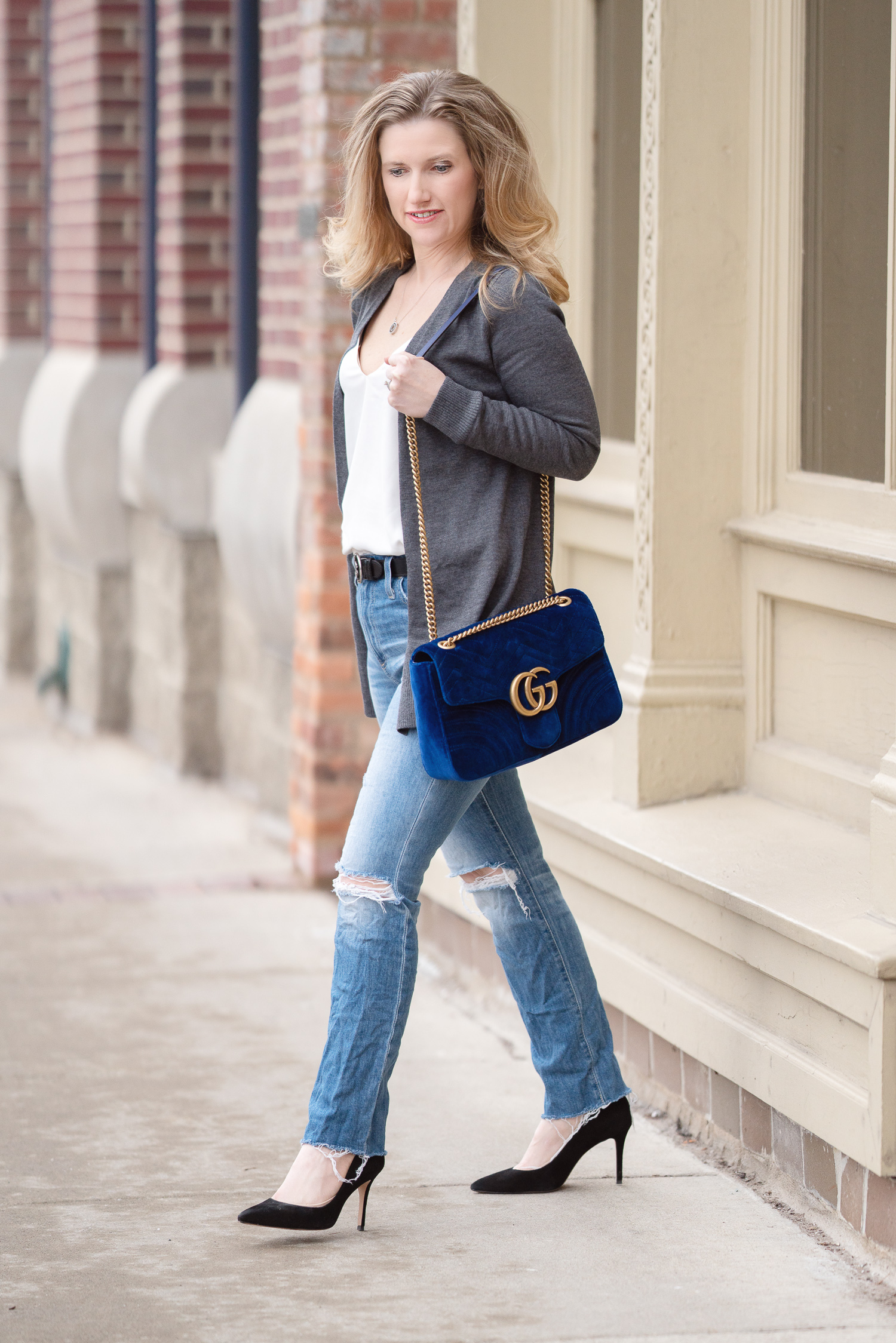 ce5701eea89 ... Gucci Marmont Velvet Bag
