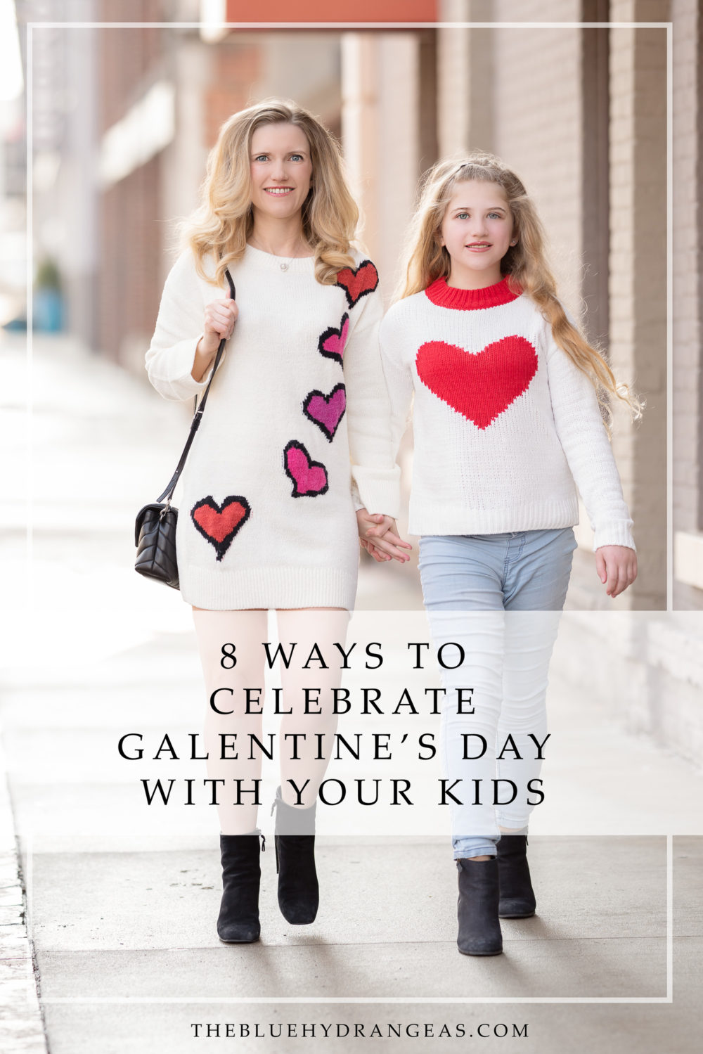 Petite Fashion and Style Blog | Lovers + Friends Heart Stopper Sweater | Tucker + Tate Sweetheart Intarsia Sweater | Valentine's Day Crafts | Galantine's Day Activities