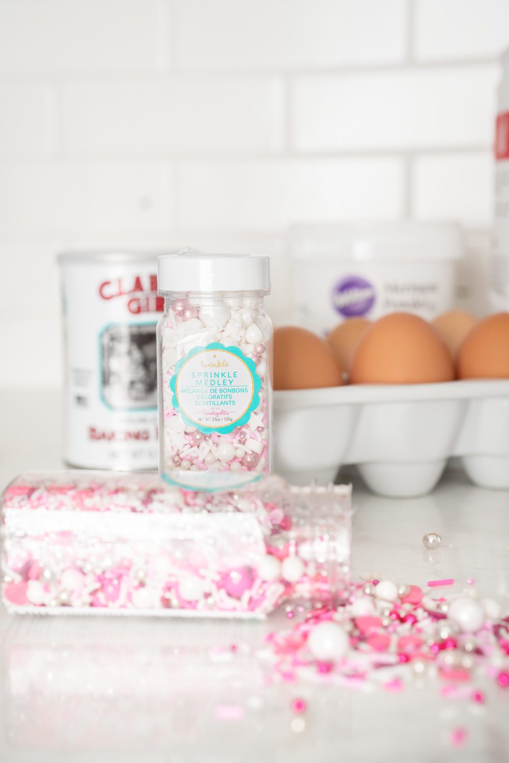 Petite Fashion and Style Blog | Valentine's Day Sugar Cookies | Farm Fresh Eggs | Kerrygold Butter | Sweetapolita Sprinkles