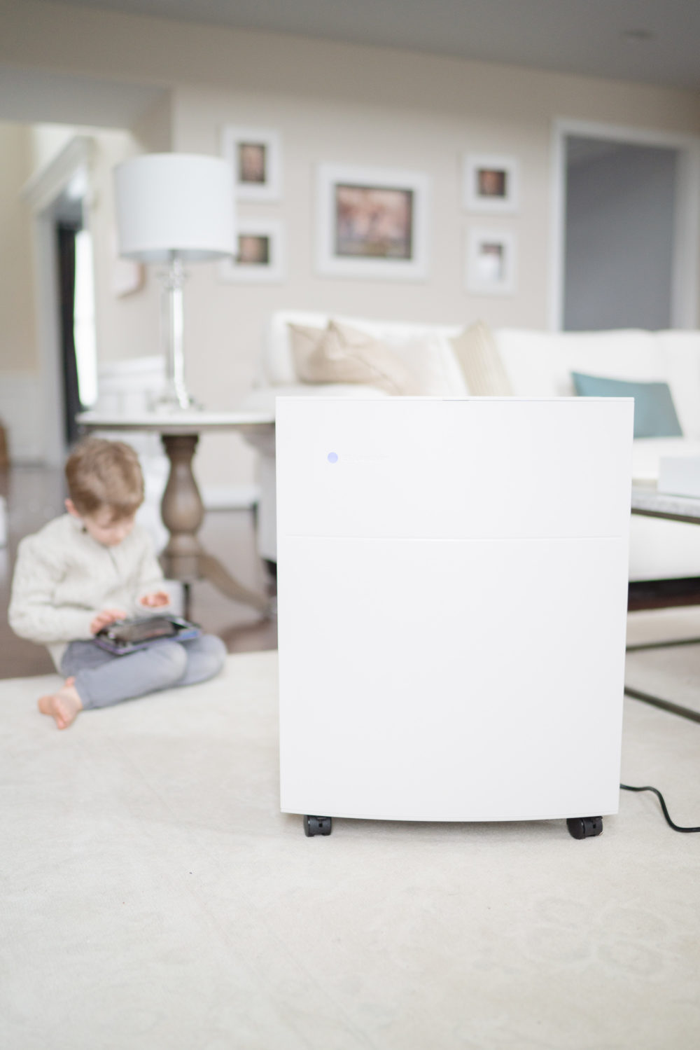 Petite Fashion Blog | Blueair Allergy Guard Plus | In Home Air Purifier | Blueair Air Purifiers