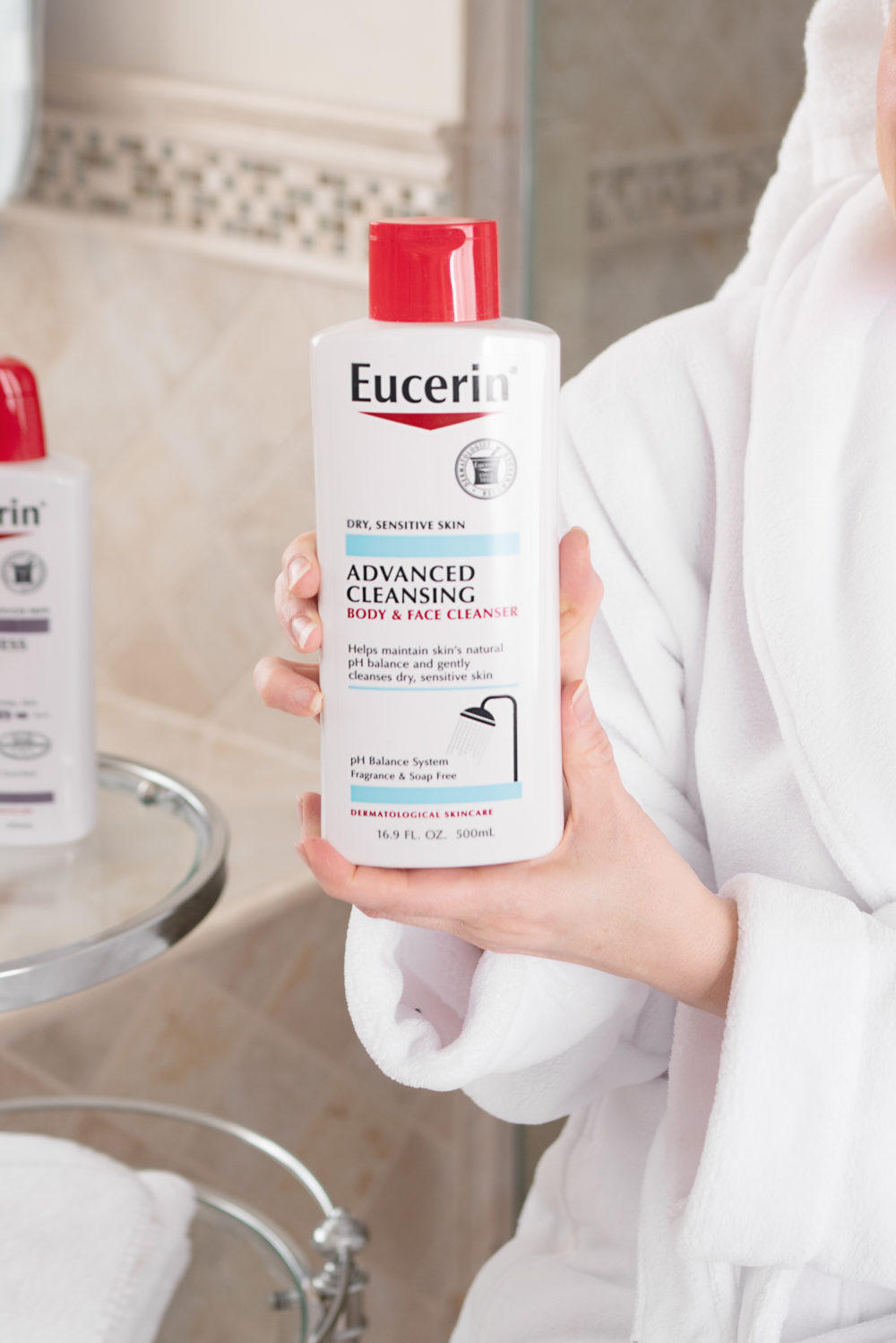 Petite Fashion Blog | Petite Style | Eucerin Advanced Repair Lotion | Eucerin Advanced Repair Cream | Eucerin Advanced Repair Hand Cream | Eucerin Roughness Relief Lotion | Winter skincare