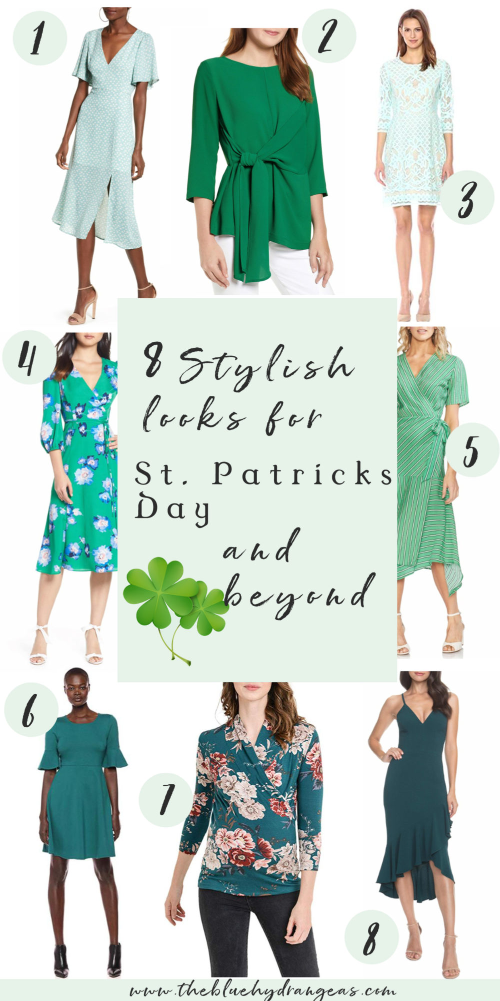 Petite Fashion Blog | Green Dresses | St. Patrick's Day Outfits | Spring Dresses