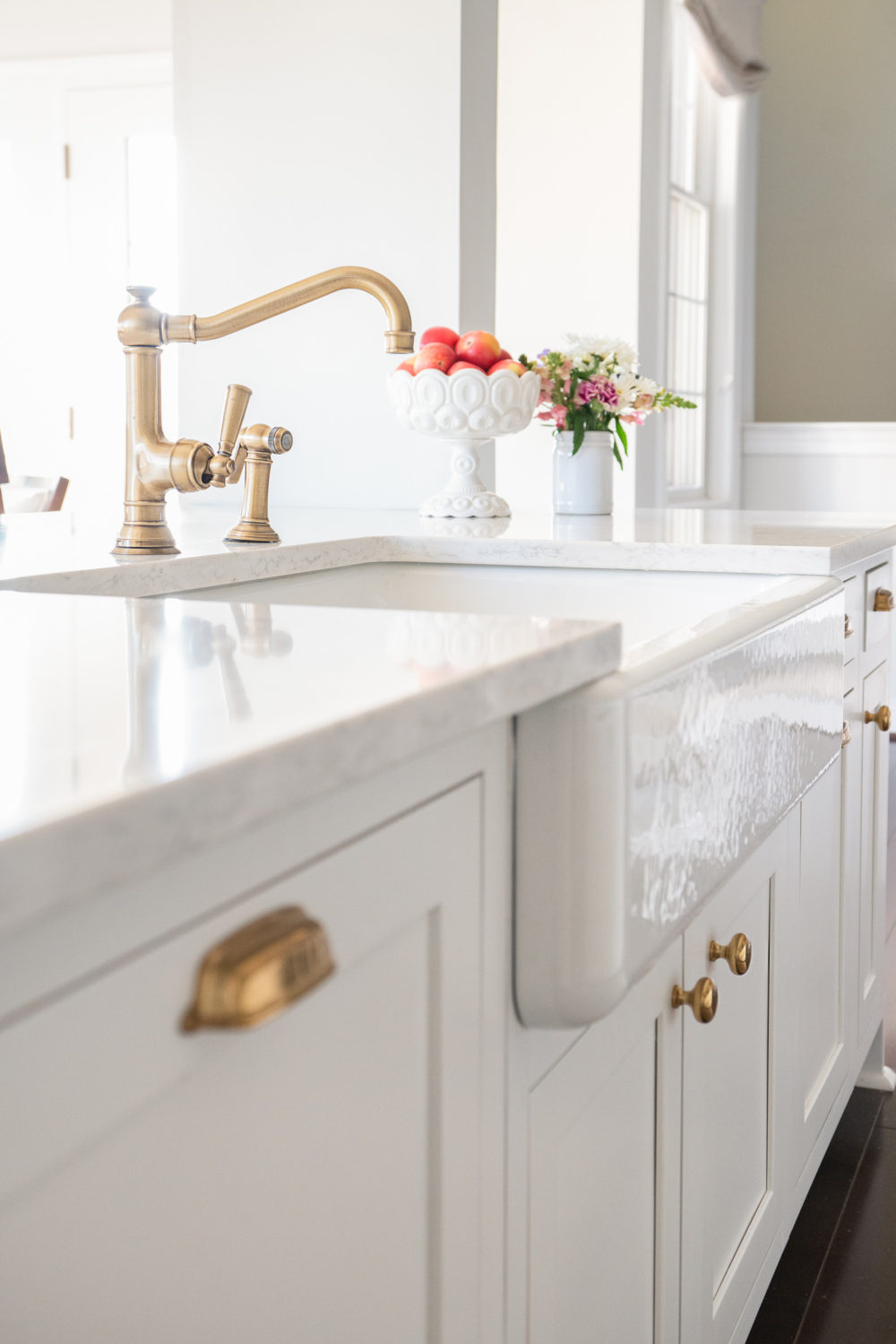 Kitchen Reveal: From Overlay to Inset... | The Blue ...
